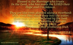 Blessed is the marriage