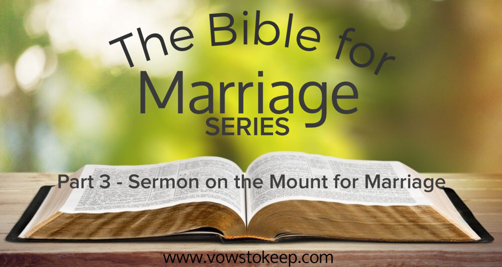 The Bible for Marriage Part 3 Living Upside-Down (Sermon on the